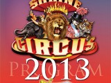 Poster for Shrine Circus 2013